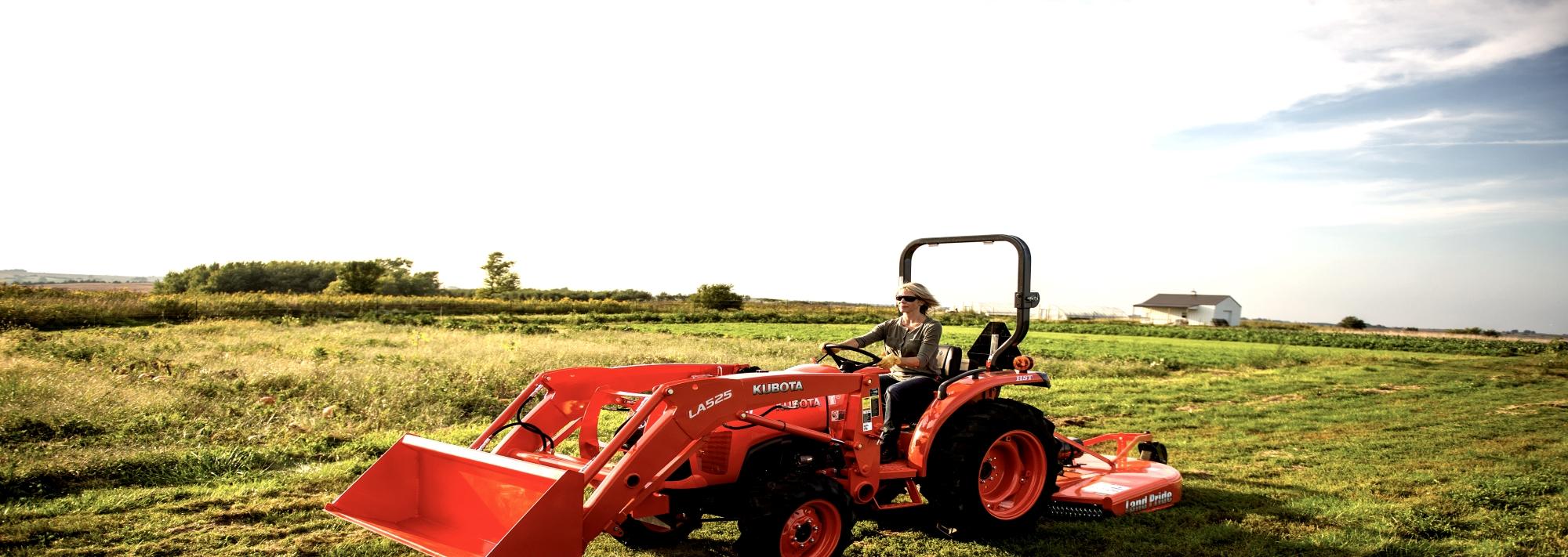 New Holland farm and construction equipment, Kubota and