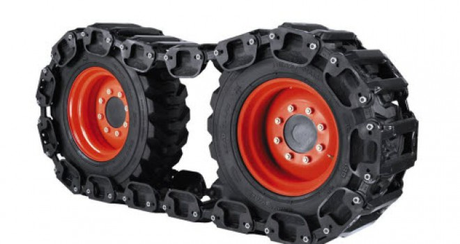 Kubota Wheel Spacer Kit : Bobcat track kit s w wheel spacer